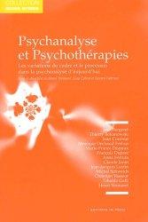 Psychanalyse et psychothérapies