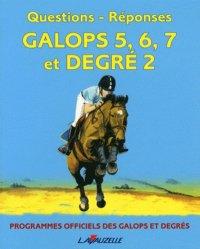Question-réponses Galops 5 à 7 et degré 2