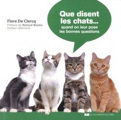 Que disent les chats... lorsqu'on leur pose les bonnes questions ?