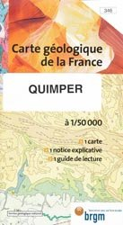 Carte géologique de la FranceQuimper