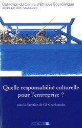 Quelle responsabilité culturelle pour l'entreprise