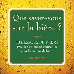 Que savez-vous sur la bière