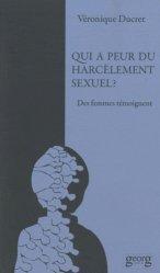 Qui a peur du harcèlement sexuel ? Des femmes témoignent