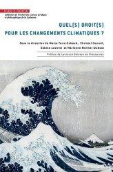 Quel(s) droit(s) pour les changements climatiques