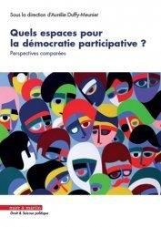 Quels espaces pour la démocratie participative