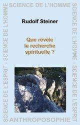 Que révèle la recherche spirituelle