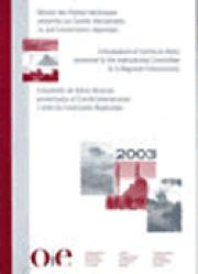 Recueil des thèmes techniques présentés au Comité international et aux Commissions régionales de l'OIE 2002-2001