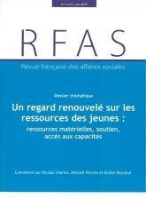 Revue française des affaires sociales N° 2/2019 : Un regard renouvelé sur les ressources des jeunes : ressources matérielles, soutien, accès aux capacités
