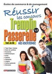 Réussir les concours Tremplin Passerelle 1 & 2