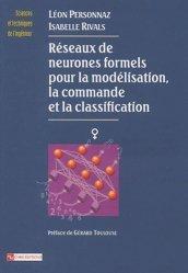Réseaux de neurones formels pour la modélisation, la commande et la classification