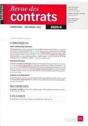 Revue des Contrats N°4