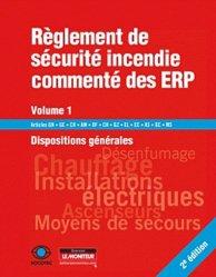 Règlement de sécurité commenté incendie des ERP - Volume 1