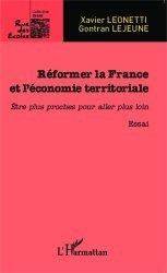 Réformer la France et l'économie territoriale