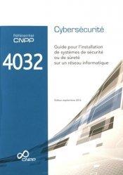 Référentiel CNPP 4032 Cybersécurité