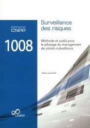 Référentiel CNPP 1008 Surveillance des risques