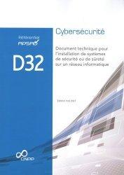 Référentiel APSAD D32 Cybersécurité