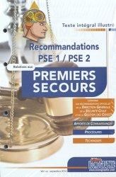 Recommandations PSE 1 / PSE 2 relatives aux premiers secours