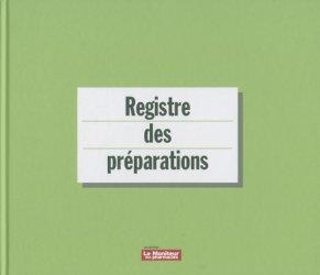 La couverture et les autres extraits de Registre des matières premières et articles de conditionnement