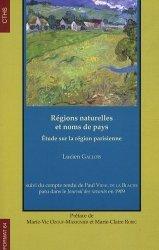 Régions naturelles et noms de pays