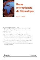 Revue internationale de Géomatique