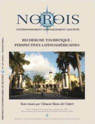 Recherche touristique : perspectives latino-américaines