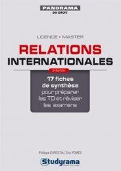 Relations internationales. 3e édition
