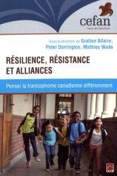 Résilience, résistance et alliances