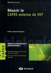 Réussir le CAPES externe de SVT Biologie