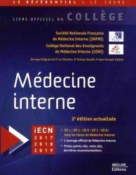 Référentiel Collège de Médecine interne