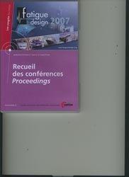 Recueil des conférences  Proceedings