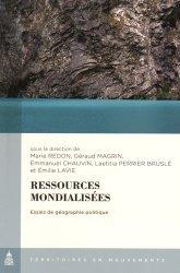 Ressources mondialisées