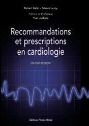 La couverture et les autres extraits de Prescription guidelines in cardiology