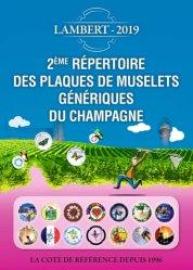 La couverture et les autres extraits de Répertoire des plaques de muselets du champagne. Nouveautés 2017-2018, Edition 2019