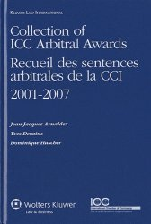 Recueil des sentences arbitrales de la CCI 2001-2007