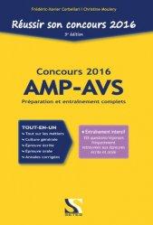 Réussir son concours 2016 AMP-AVS
