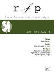 rfp 2021, t. 85, n.1