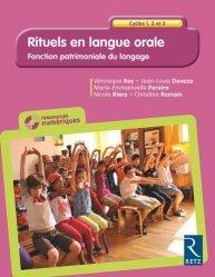 Rituels en langue orale Cycles 1, 2 et 3