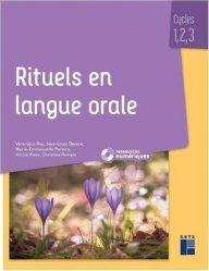 Rituels en langue orale cycles 1, 2 , 3
