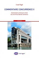 La couverture et les autres extraits de Droit de la concurrence. Cours intégral et synthètique, Edition 2019-2020