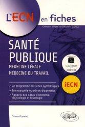 La couverture et les autres extraits de UE ECN+ Santé publique