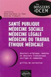 La couverture et les autres extraits de Santé publique