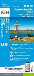 La couverture et les autres extraits de Haute vallée du Var, Gorges de Daluis, Parc national du Mercantour. 1/25 000