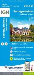 La couverture et les autres extraits de Bussang, La Bresse, Ballon d'Alsace. 1/25 000, plastifiée-résistante