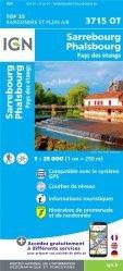La couverture et les autres extraits de Strasbourg. 1/25 000