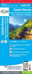 La couverture et les autres extraits de St-Benoît St-André, île de la Réunion. 1/25 000