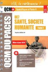 Santé - Société humanité Tome 1 UE7 ( Paris 6)