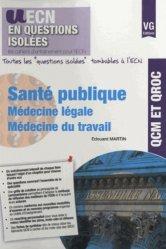 La couverture et les autres extraits de Santé publique, médecine légale, médecine du travail, pharmacologie