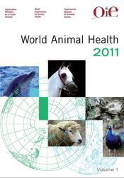 La couverture et les autres extraits de Manuel des tests de diagnostic et des vaccins pour les animaux terrestres de l'OIE