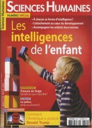 Sciences Humaines N° 303, mai 2018 : Les intelligences de l'enfant