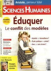 Sciences Humaines N° 307, octobre 2018 : Eduquer, le conflit des modèles